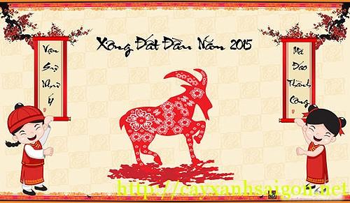 Ngày đẹp để mở hàng, xuất hành, đi lễ đầu năm Ất Mùi 2015