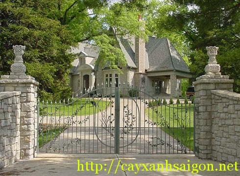 Cổng vào nhà