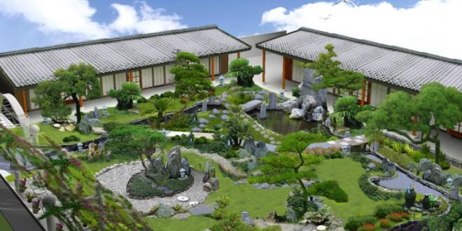 Nghệ thuật thiết kế Sân vườn của người Nhật Bản